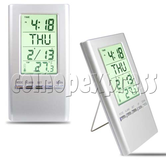 LCD Clock with Weather Data 20092