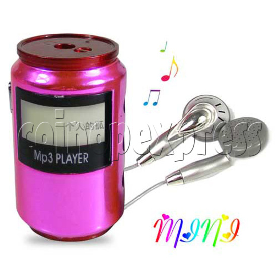 Cola Can Shaped MP3 20165