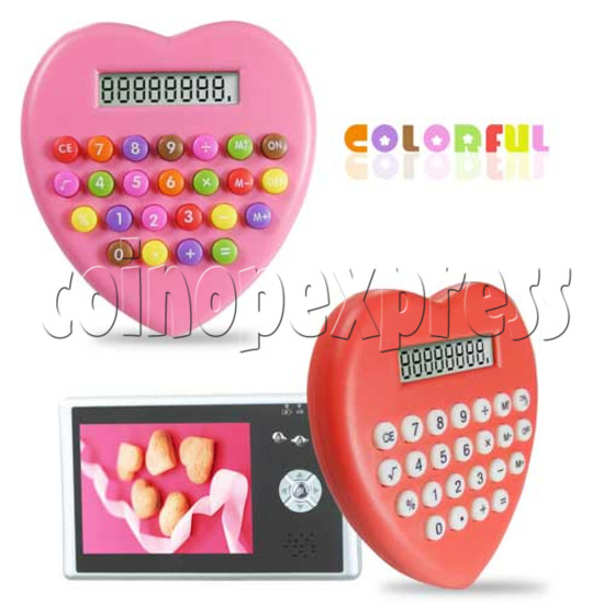 Colorful Button Calculator 20193