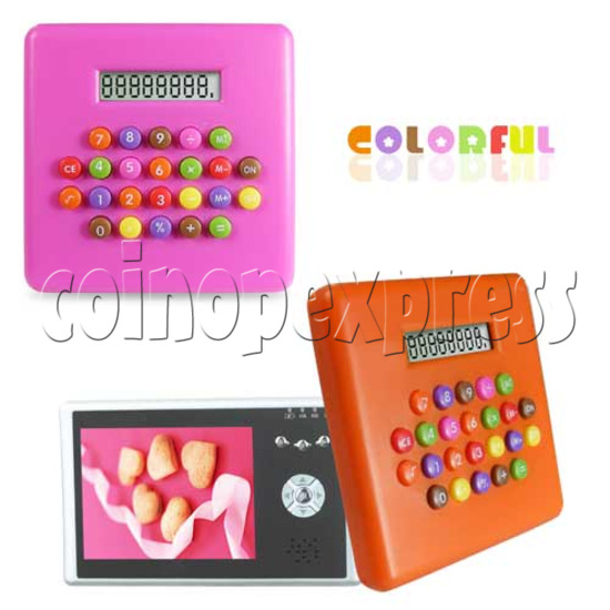Colorful Button Calculator 20194