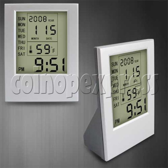 LCD Clock with Multifunction 20207
