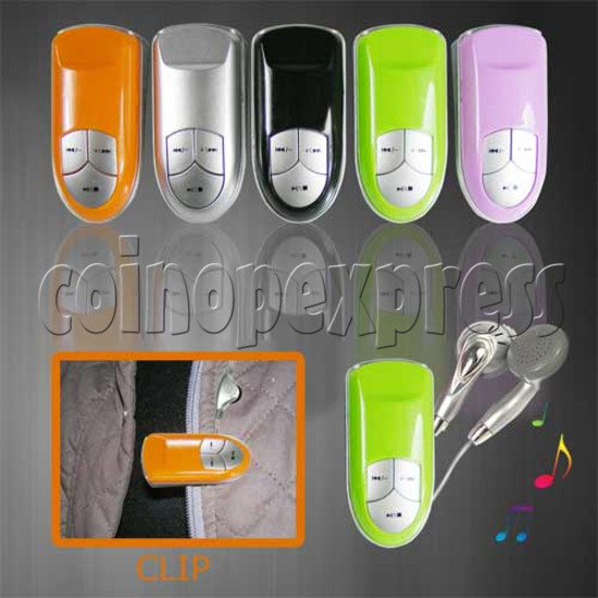 MP3 with Clip Shape 20283