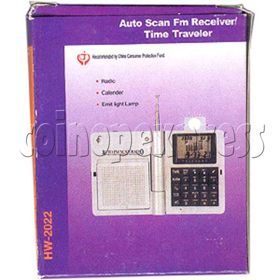 Auto Scan FM Receiver / Time Traveller 2031