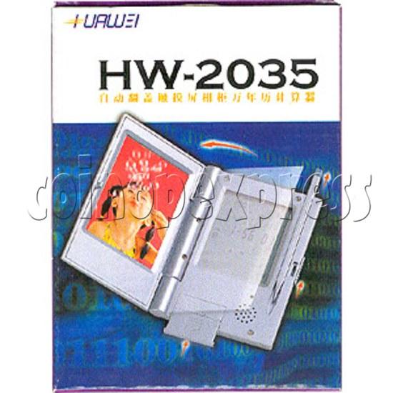 Screen Touch Calendar 2066