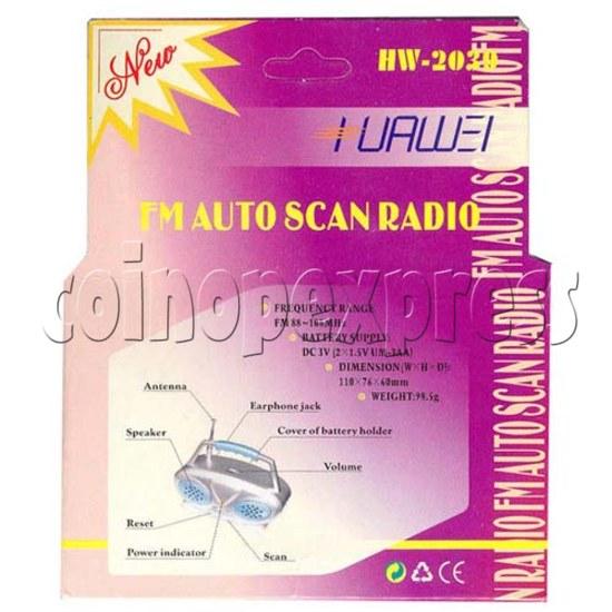 Auto Scan FM Radio 2091