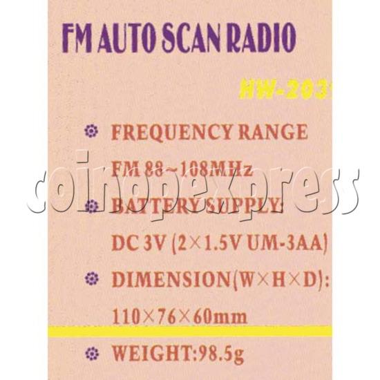 Auto Scan FM Radio 2094