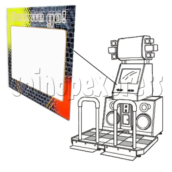 DDR Monitor for Glass Cover 21097