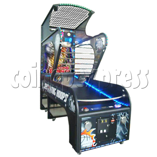 Shooting Hoops basketball machine 21123