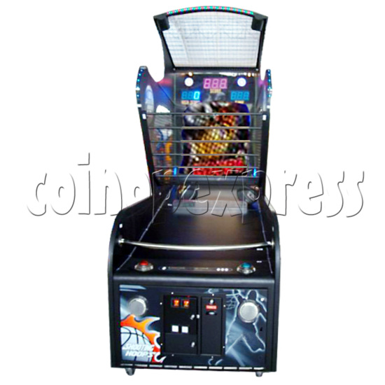 Shooting Hoops basketball machine 21124