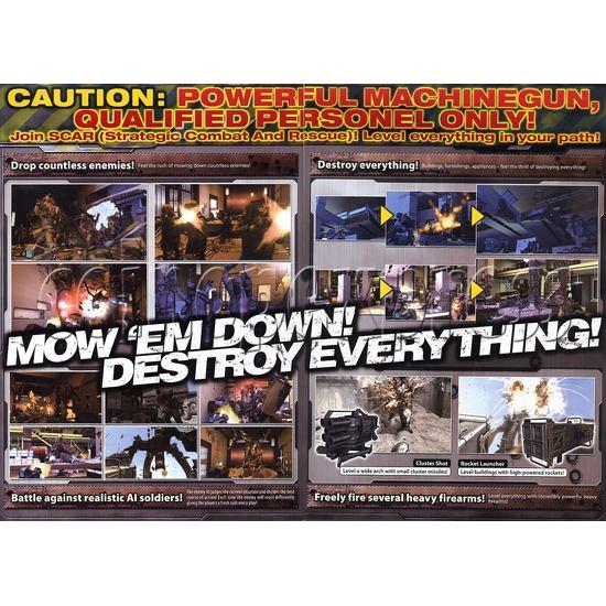 Razing Storm Shooting Game Machine 21183