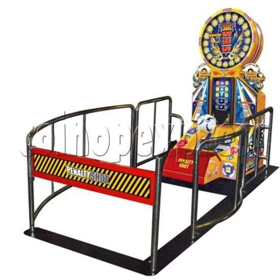 Penalty Shot Football DX game machine 21219