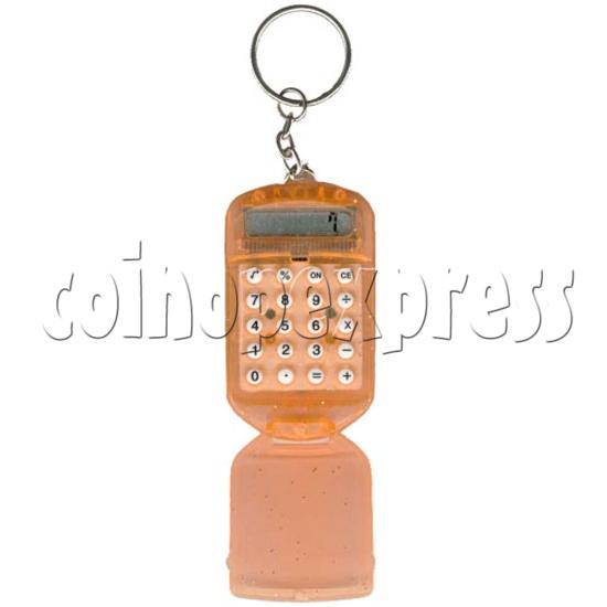 Flip Top Calculator Key Chain 2123