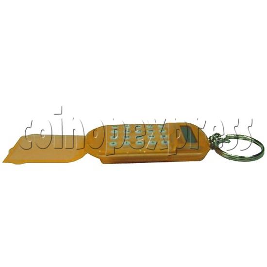 Flip Top Calculator Key Chain 2125