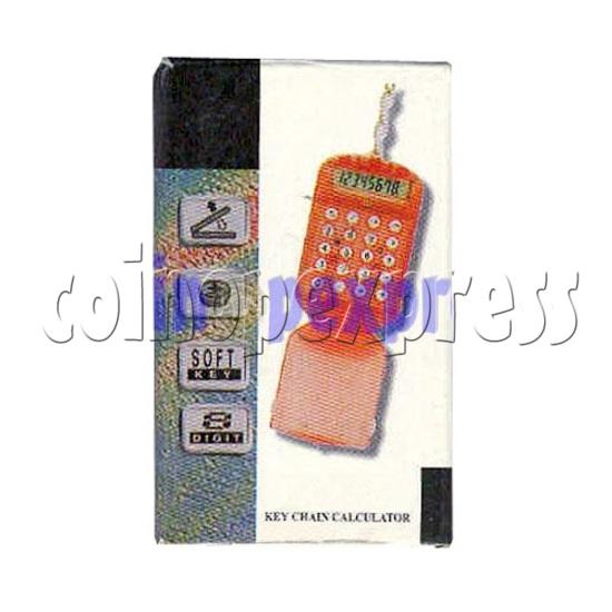 Flip Top Calculator Key Chain 2126