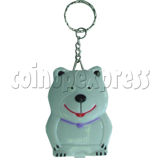 White Bear Calculator Key Chain 2128