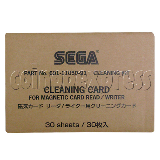 SEGA Cleaning Card for Magnetic Card Read/Writer 21289