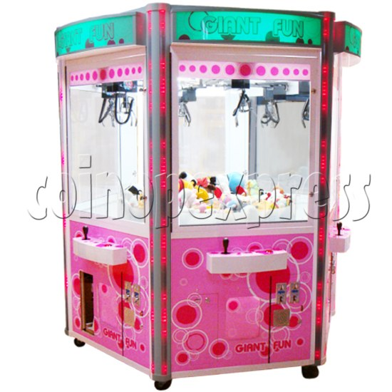 Giant Fun crane machine (6 players) 21394