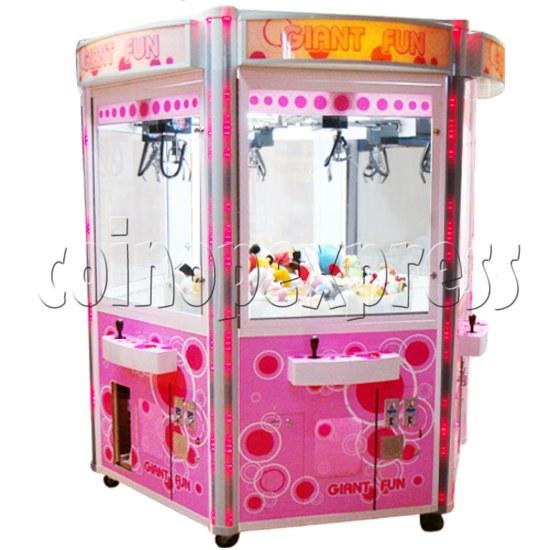 Giant Fun crane machine (6 players) 21395