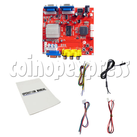 Arcade Video Converter Board (CGA to VGA) 21499