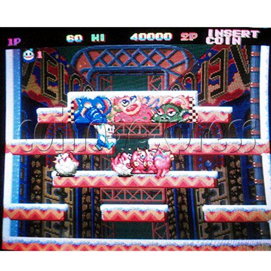 Happy Fish 302 multi game pcb-game play 6