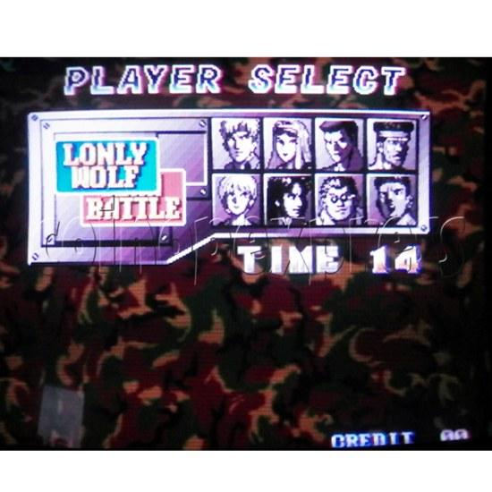 Happy Fish 302 multi game pcb-game play 9