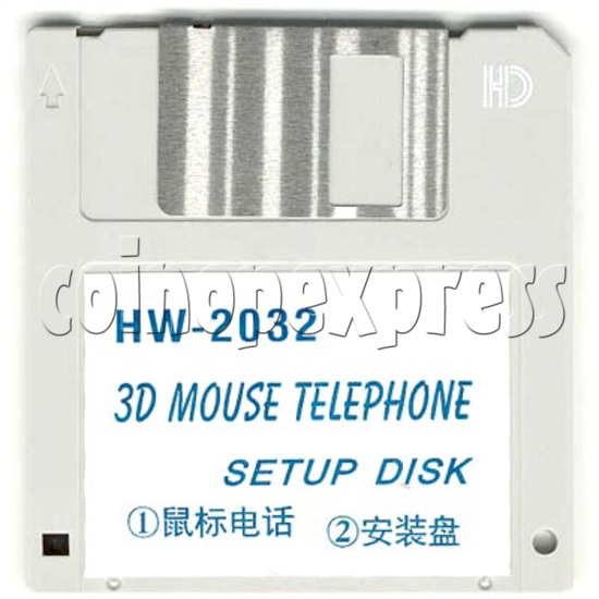 3D Mouse Telephone 2157