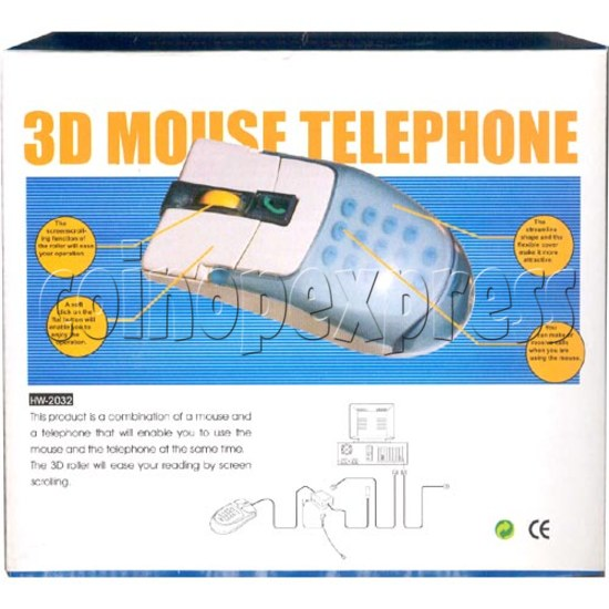 3D Mouse Telephone 2159