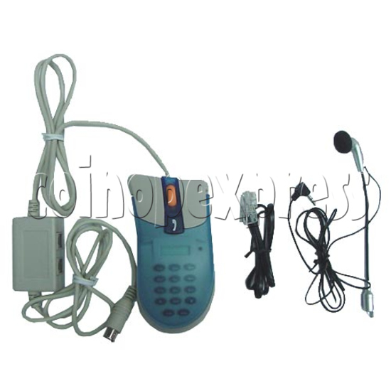 3D Mouse Telephone with Display 2160