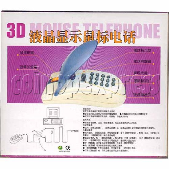 3D Mouse Telephone with Display 2172