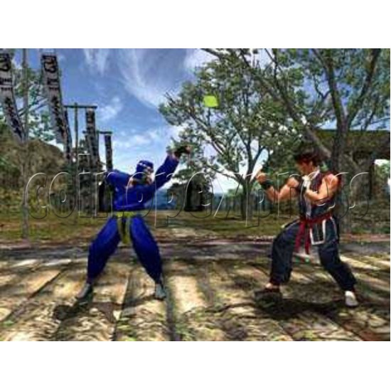 Virtua Fighter 4 Final Tuned Arcade software - game play-2