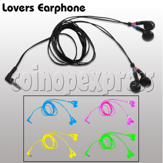 Earphone - two pairs in one jack 22814