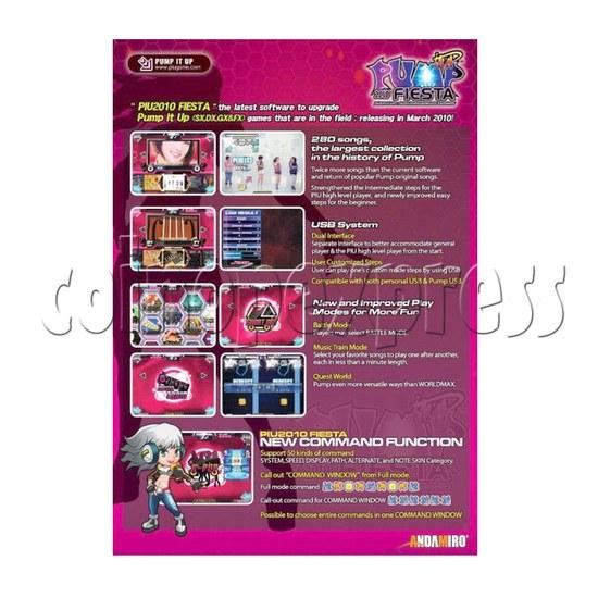 Pump It Up FIESTA software upgrade kit 22883