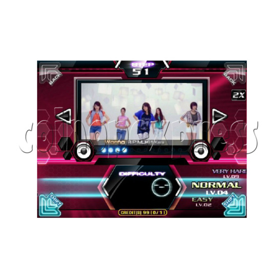 Pump It Up 2010 FIESTA (42 inch screen) 22886