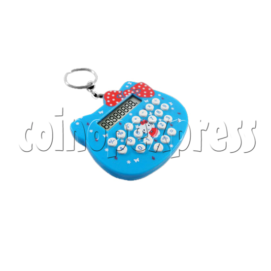 Mini cat style Calculator Key Ring 23103