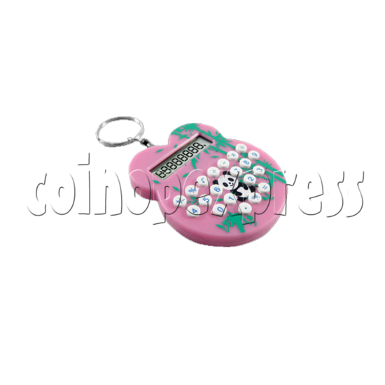 Mini cat style Calculator Key Ring 23104