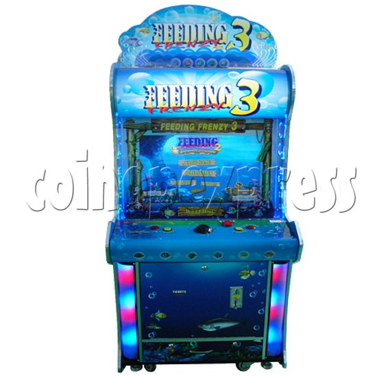 Feeding Frenzy 3 Ticket Redemption Machine - front view
