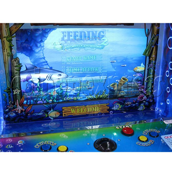 Feeding Frenzy 3 Ticket Redemption Machine - screen