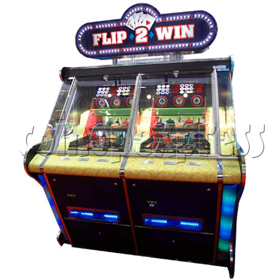 Flip 2 Win Coin Pusher Machine 23143