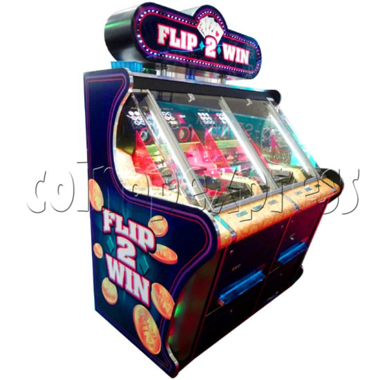Flip 2 Win Coin Pusher Machine 23144