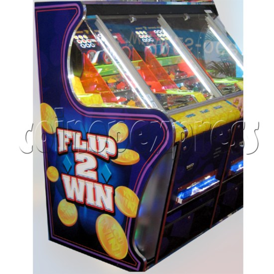 Flip 2 Win Coin Pusher Machine 23145