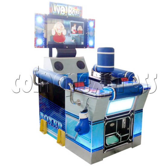 """Punch Machine: 32"""" LCD live boxing 23150"""
