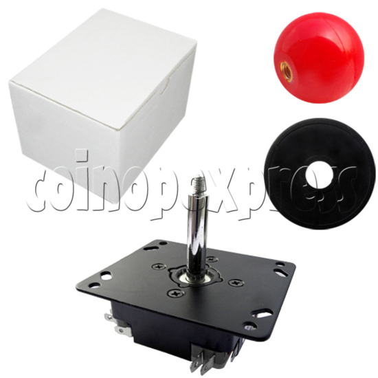 Metal Construction Joystick with ZIPPY Microswitches 23388