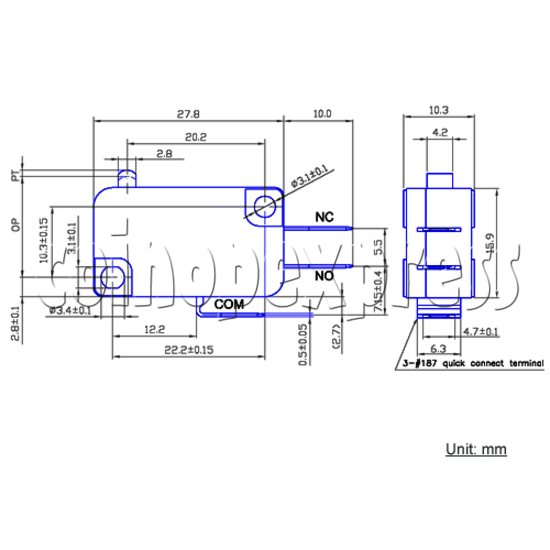 ZIPPY Microswitch for Push Button 23408