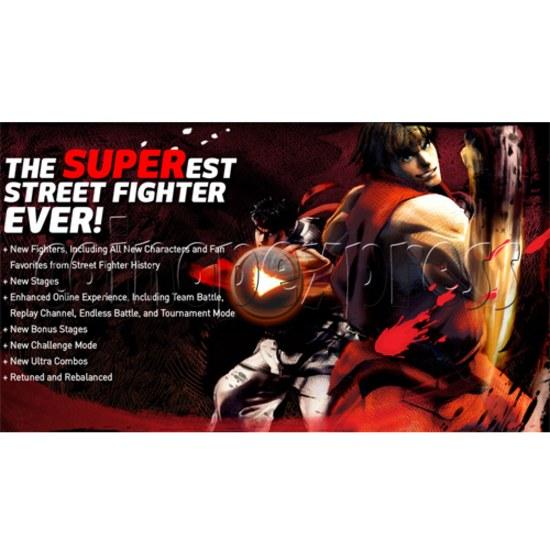 Super Street Fighter IV software (upgrade Street Fighter 4) - stop production 23480