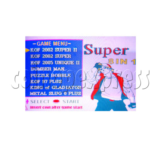 Super 8 in 1 - mvs 1 cartridge - stop production 23701