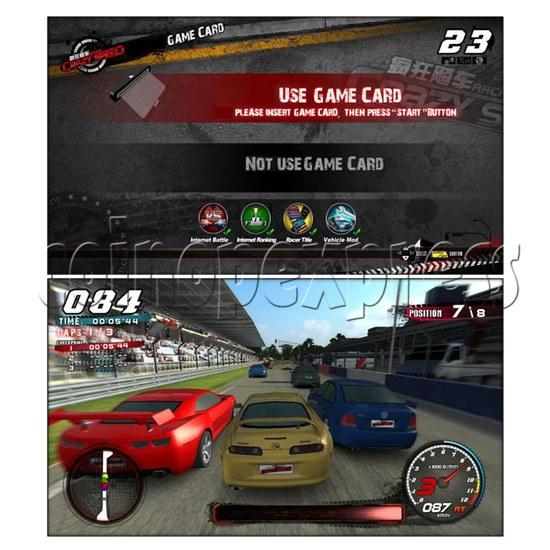 Crazy Speed Arcade Machine 23723