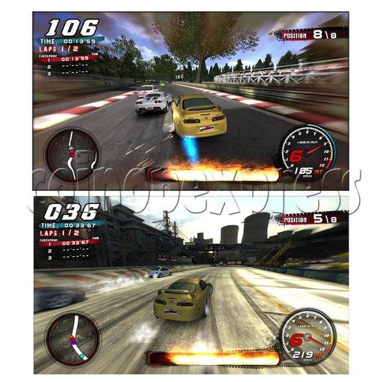 Crazy Speed Arcade Machine 23724