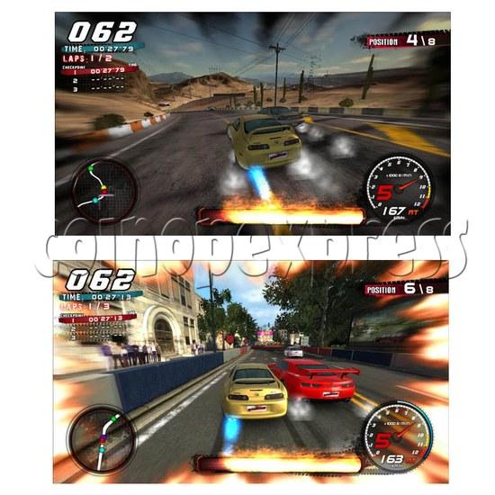 Crazy Speed Arcade Machine 23725