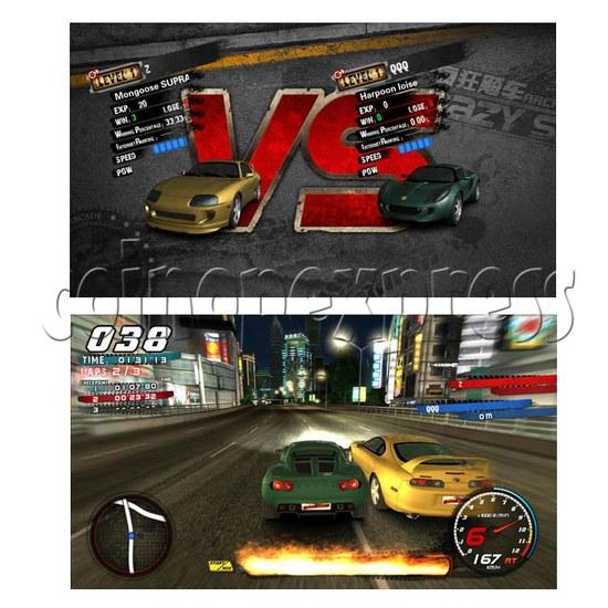 Crazy Speed Arcade Machine 23726