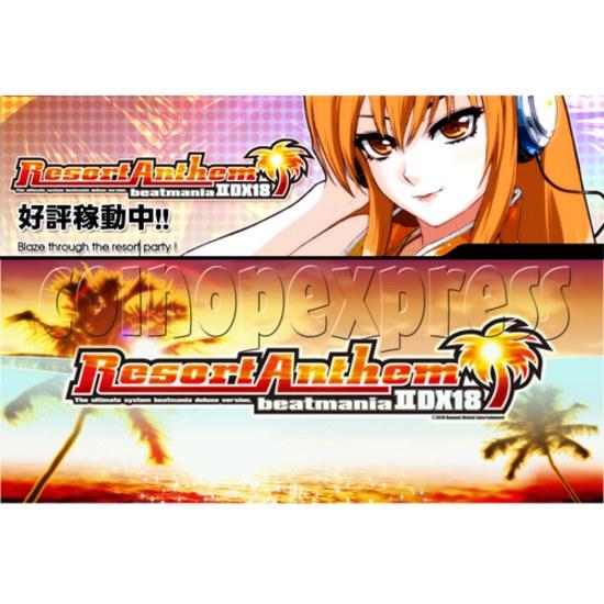Beatmania II DX 18 Resort Anthem 23744